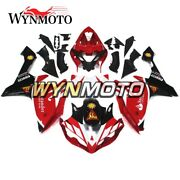 Red White Body Work For Yamaha Shells Fairing Kit Yzf1000 R1 Cowlings 2007 2008