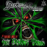 Yamaha Raptor 700 2013-2020 The Demons Within Graphics Wrap Green Carbon