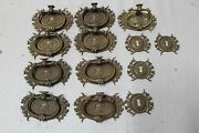 Very Nice High Quality Hardware Set Handle And Key Hole Cover Horner Victorian