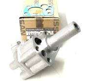 Genuine Nissan 280zx Turbo Oil Pump And Free Gasket - For Datsun S30 260z L26