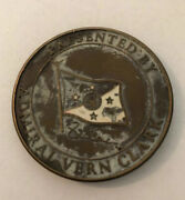 United States Navy Chief Of Operations Admiral Vern Clark Coin Rare A30