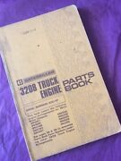 Cat Caterpillar 3208 Parts Manual Book Engine White Truck 40s1-up Guide List
