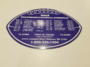 Baltimore Ravens 2013 Nfl Football Magnet Schedule - Fred W. Frank