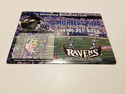 Baltimore Ravens 2012 Nfl Football Magnet Schedule - Michael's Pizza