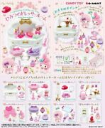 Re-ment Sanrio My Melody And My Sweet Pianos Secret Dress-up Room Complete Box 8p