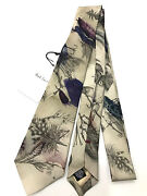 Paul Smith Tie Fishing Angling Design Show Tie 7cm Blade Made In Italyvery Rare