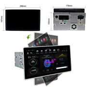 12.8 2din Android 9.0 Radio Stereo Head Unit Gps Navigation 4+32gb W/ Car Play