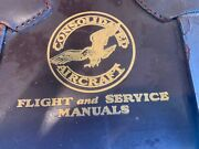 1942 B-24d Liberator Bomber Service And Instructions And Armament Manual Set Of 7
