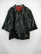Nwt Maggie Barnes Womenand039s Button Front Coat Size 5x Vin194