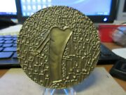 1972 Society Of Medalists 85 World Population Crisis Bronze Medal Maco