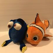 Disney Store Finding Nemo And Dory Plush Toys