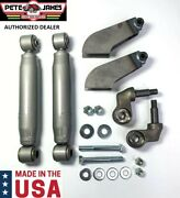 Painted Weld-on Front Shock Kit For 1928-1931 Model A And 1932 Ford - Made In Usa
