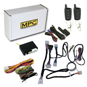 Remote Start Kit With Keyless Entry For 2012-2014 Toyota Camry - With T-harness