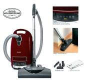 Miele Complete C3 Soft Carpet Canister Vacuum Power Nozzle And All Attachments