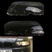 1 Set Of Car Headlight Cover Lens Fit For 99-03 Bmw E46 2dr M3 01-06 Hot Sale