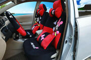 New Plush 1 Sets Luxury Women Cute Cartoon Mickey Mouse Universal Car Seat Cover