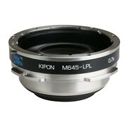 Kipon Adapter Focal Reducer Speedbooster For Mamiya 645 Lens To Lpl Cine Camera