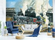 3d Train Station I25 Wallpaper Mural Sefl-adhesive Removable Trevor Mitchell Amy