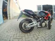 Aprilia Shiver Sl 750 Silmotor Italia Exhaust Mid-system With Carbon Mufflers