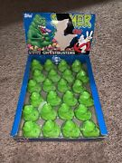 Topps Ghostbusters Slimer 1989 Head Bust Candy Box Containers Dispenser 24 Piece