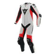 New Dainese D-air Racing Misano Perf. Suit Menand039s Eu 48 White/red 1d10016u2548
