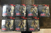 Walking Dead Comic Book Series 1 Bundle 7 Figures Signed By Mcfarland And Kirkman