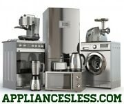 Appliancesless.com Sell Buy Home Goods Fridge Stove Microwave Washer Dryer Units