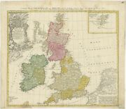 Antique Map Of