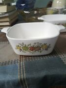 Corning Ware Spice Of Life P-43-b Casserole Dish 2 3/4 Cup. Vintage Usa Oven