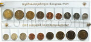 Thailand 9 Coins Set 2018 Complete Set In Seal 4570