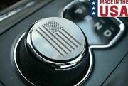 Dial Shift Knob Trim With Us American Flag For 2013-2020 Ram Truck