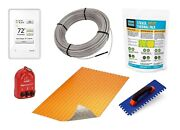 Schluter Ditra Floor Heat Safety Kit Wifi Programmable Thermostat And Duo Membr