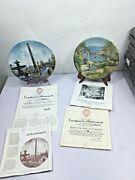 Decorative Commemorative Nostalgic Plates Pay Shipping For 1 And 1 For Extras
