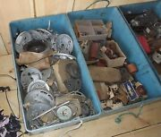 Large Lot Of New Old Stock Parts Dated From 1951 Evinrude Johnson Elto