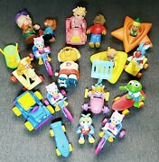 Vintage Muppets 80s Toys Kermit Miss Piggy Gonzo And Fozzie Webby Jetsons + More