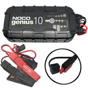 Noco Genius10 Battery Charger And Maintainer 10 Amp