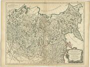 Antique Map Of The Russian Empire In Asia By Vaugondy 1750