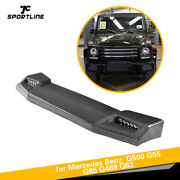 Front Roof Spoiler Wing Refit For 13-17 Mercedes G500 G550 G63 G63 G65 With Led