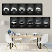 Nissan Skyline Gtr Car Pictures Wall Art Canvas Paintings Classic Retro Gift New