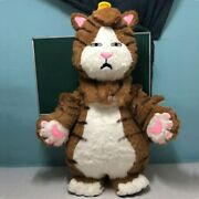 2.2m Inflatable Nine-tailed Cat Mascot Costume Suits Cosplay Party Game Outfits