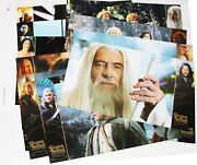 36 Lobby Cards Prestige Lord Of The Rings Fellowship 2 Towers Return O The King