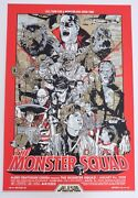 Monster Squad Mondo Poster By Tyler Stout Limited Edition Screen Print Signed Ap