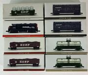 Nib 8pc Dummy Set High Speed Southern Pacific N-scale Micro Train Set Table Top