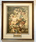 Rare Joseph Nigg Antique Chromo Lithograph Printed In France Matted And Framed