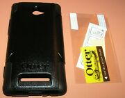 Otterbox Commuter Dual Layer Hybrid Case For Htc Windows Phone 8x, Black, New