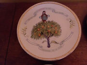 Patience Brewster Department 56 Christmas Krinkles 12 Days Of Christmas Plates