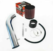 Kandn Filter With Generic Air Intake System For 1997-1999 Acura Cl 3.0l V6