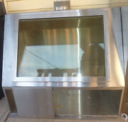 Hot Lab Prep Hood Nuclear Isotopes Lead Lined Shielded Ducted Exhaust