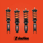 88-91 Civic/crx Riaction Performance Coilover Kit 32 Way Adjustable Control Ef