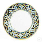 24 White Marble Center Table Top Gemstones Marquetry Art Christmas Home Decor